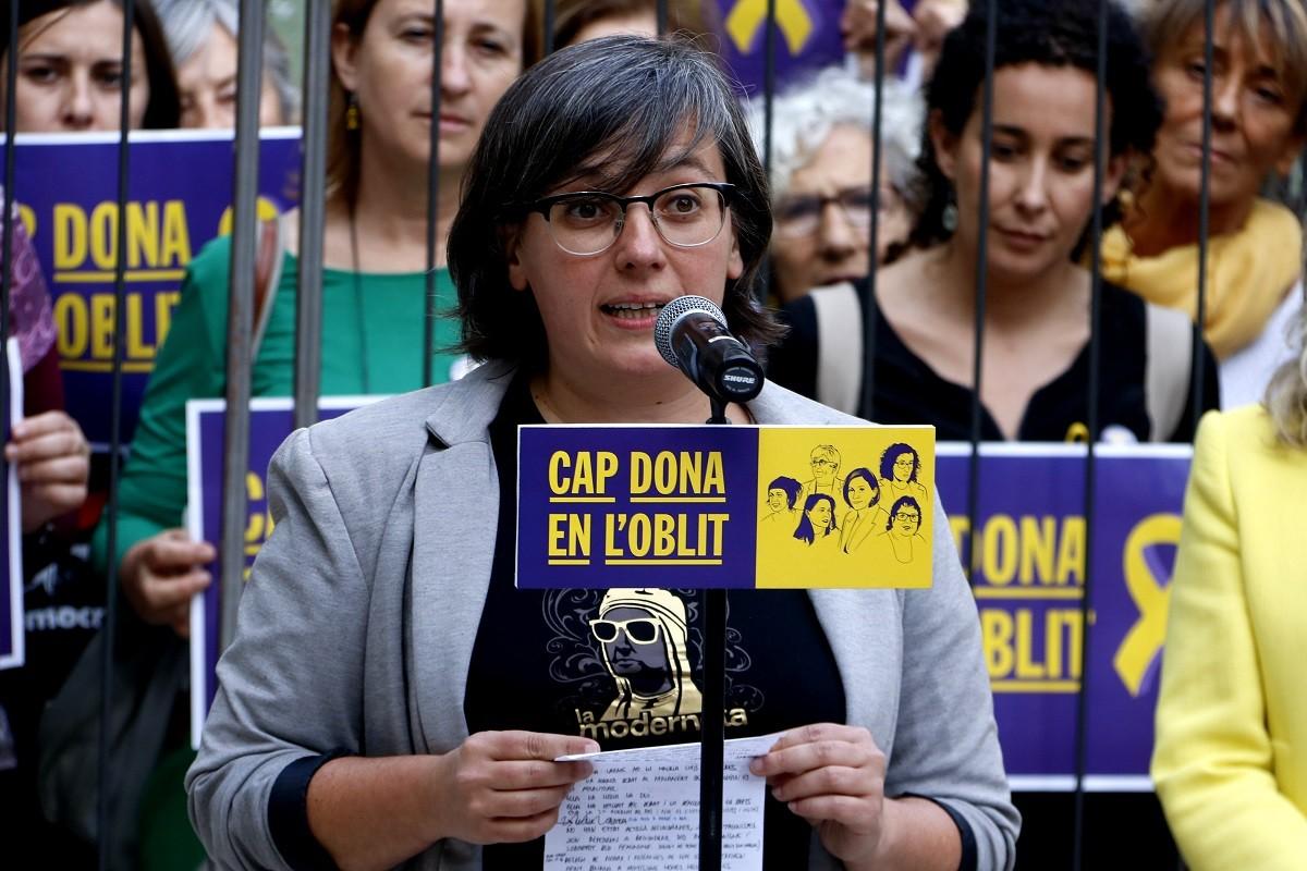 L'exdiputada i exmembre de la direcció de la CUP Mireia Boya.
