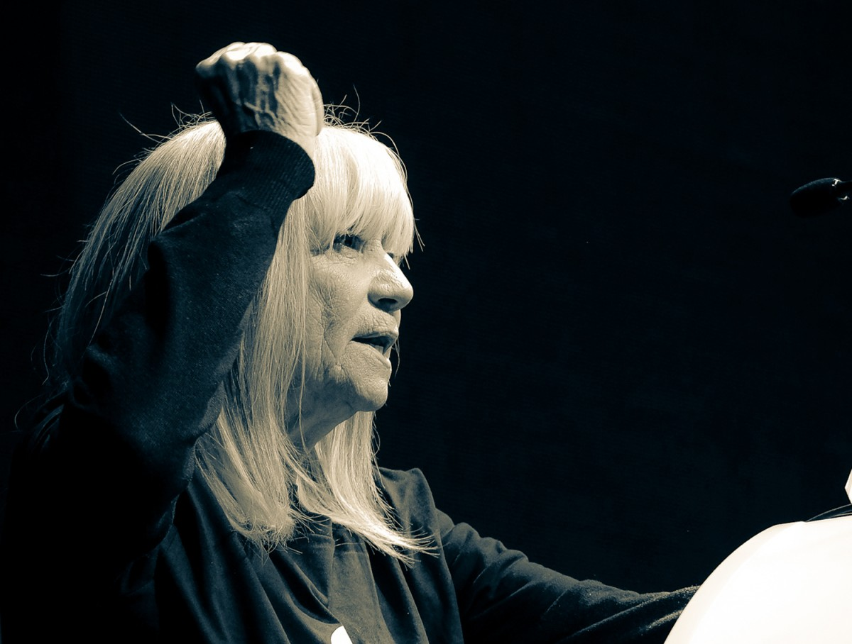 Laura Almerich a la gala dels Premis Enderrock 2018