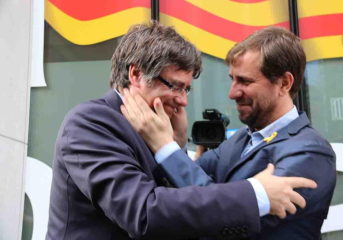 Puigdemont i Comín en una imatge d'arxiu
