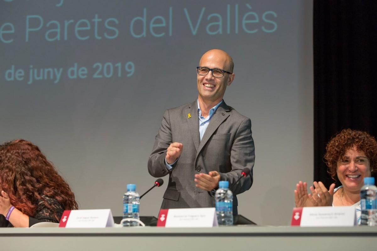 Jordi Seguer, nou alcalde de Parets del Vallès
