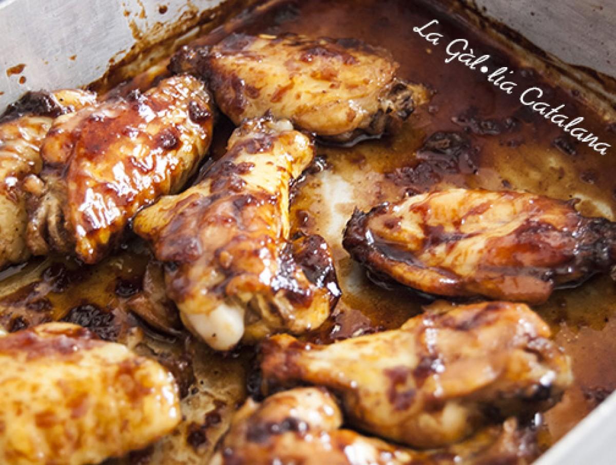 Aletes de pollastre a la Momofuku