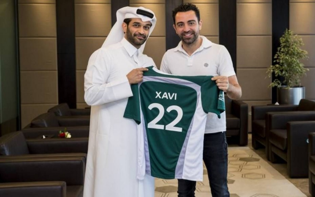Xavi, quan va fitxar per l'Al Sadd SC