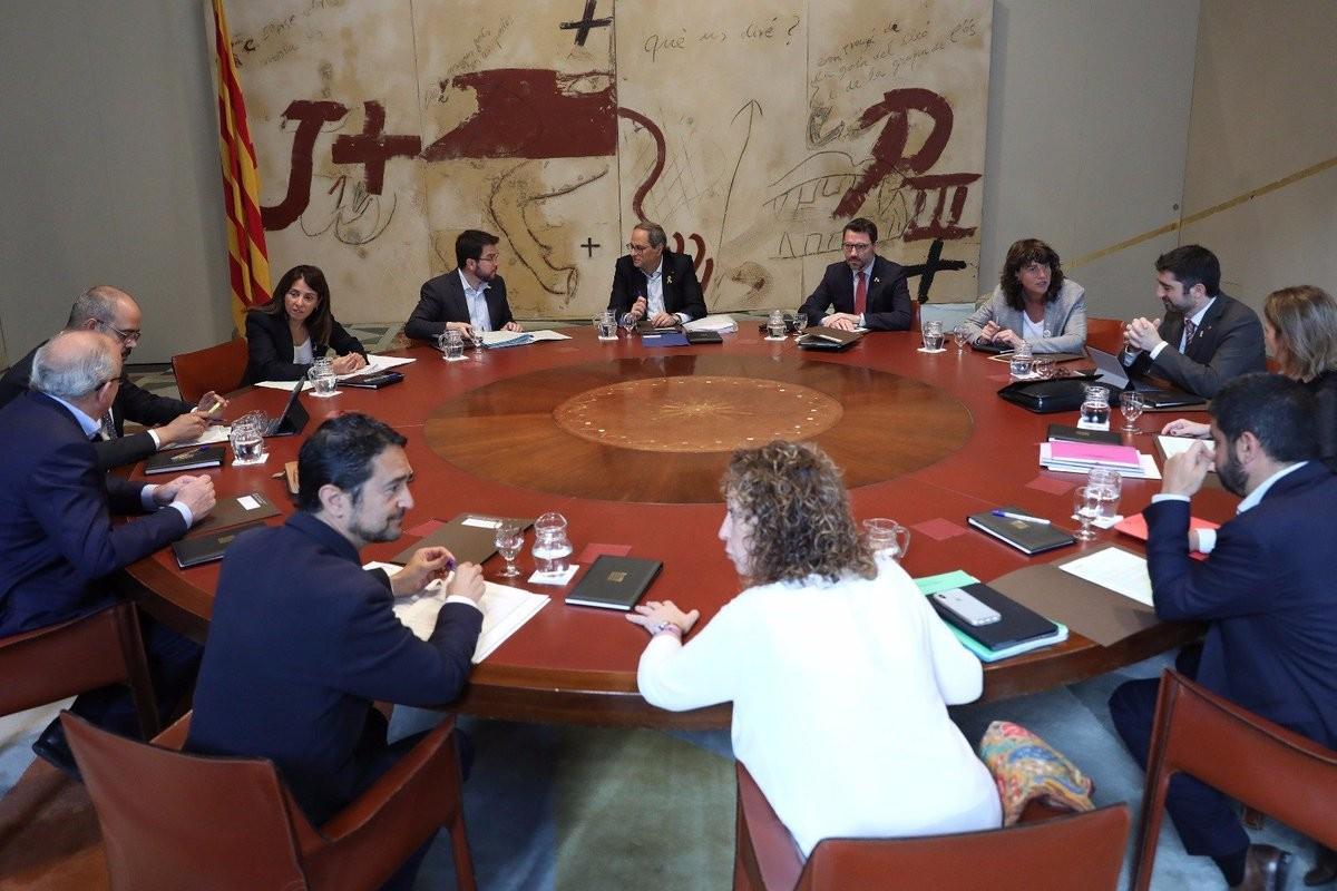 Reunió del Govern del 18 de juny del 2019