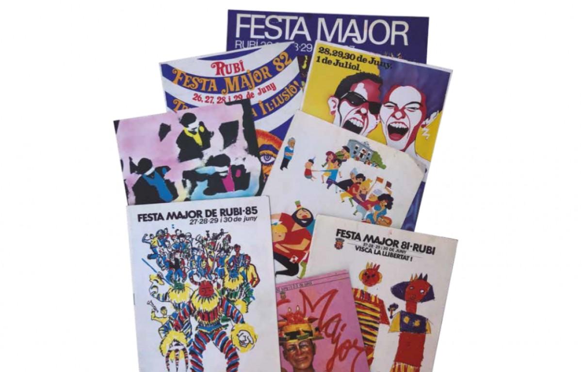 La mostra de cartells de Festa Major es podrà visitar del 20 de juny al 12 de setembre