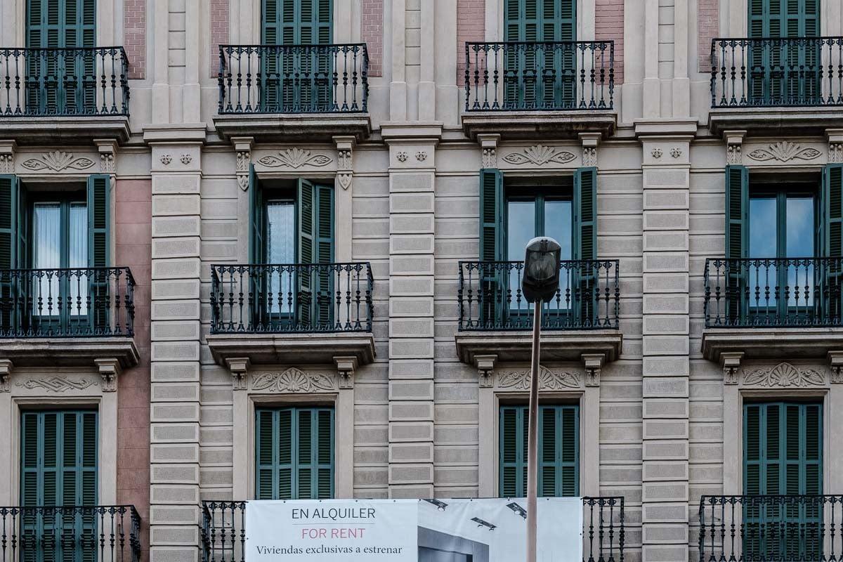 Pisos en lloguer al centre de Barcelona.