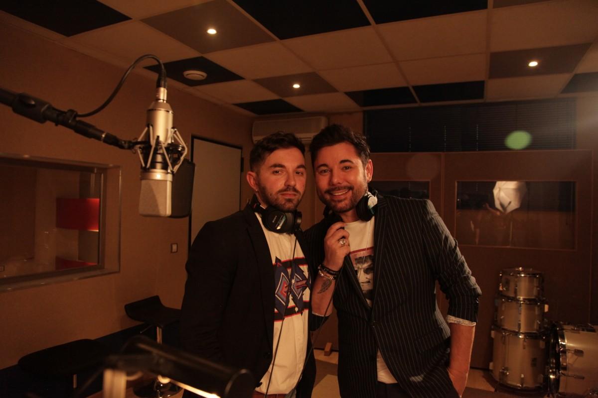Alessio Arena i Miguel Poveda a l'estudi