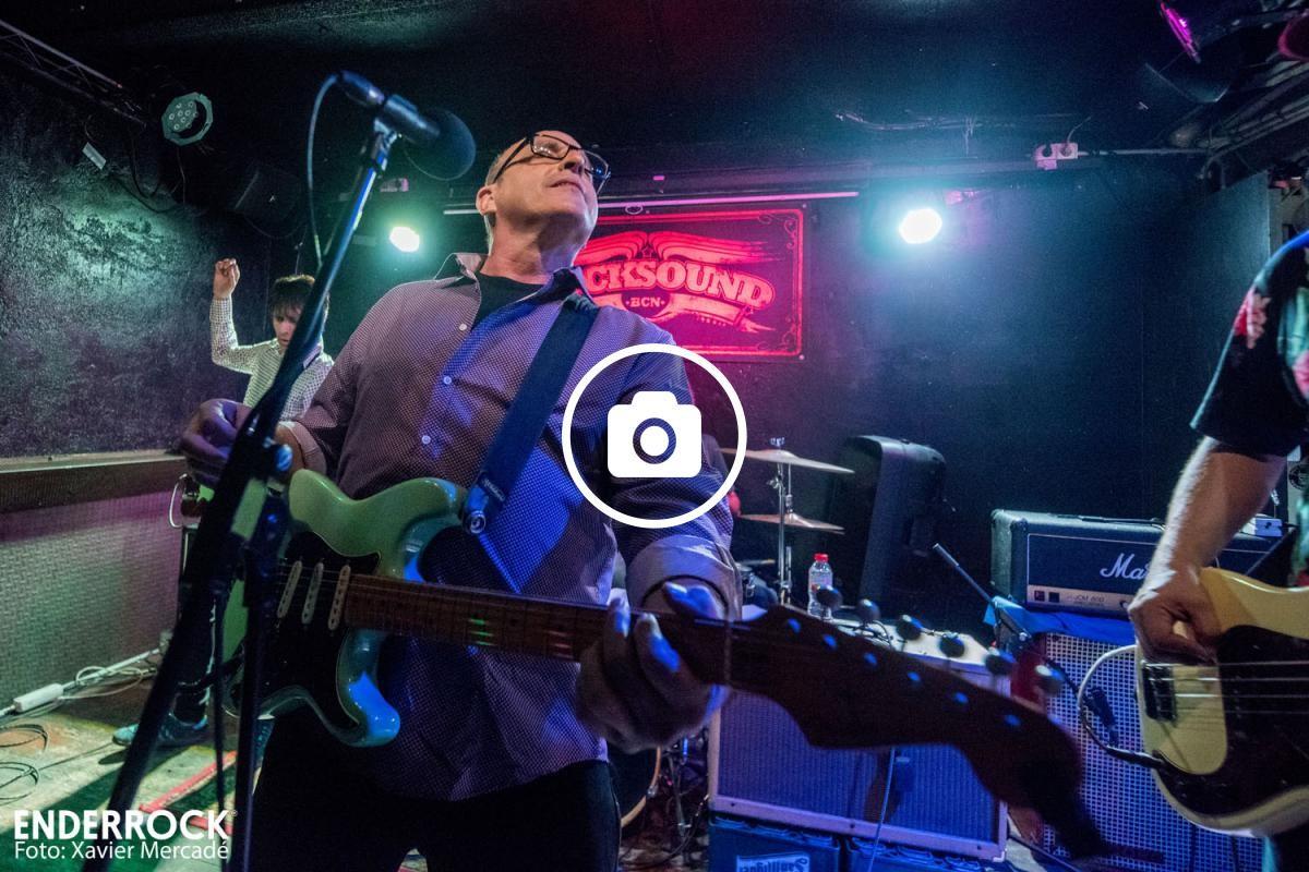 Paul Collins al seu concert a la Rocksound