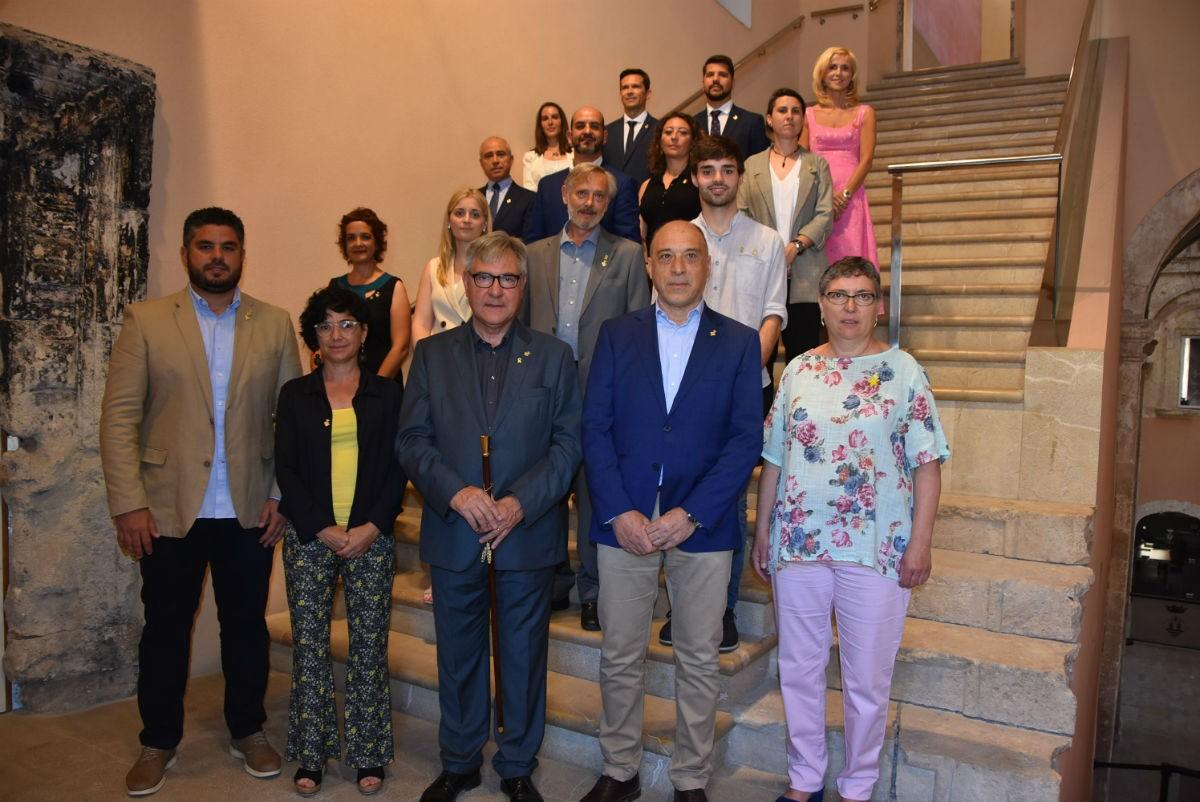 vTots els regidors electes de l'Ajuntament de Torredembarra.