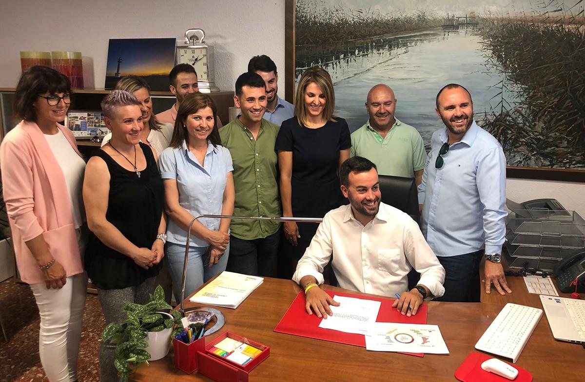 El nou Govern municipal de Deltebre