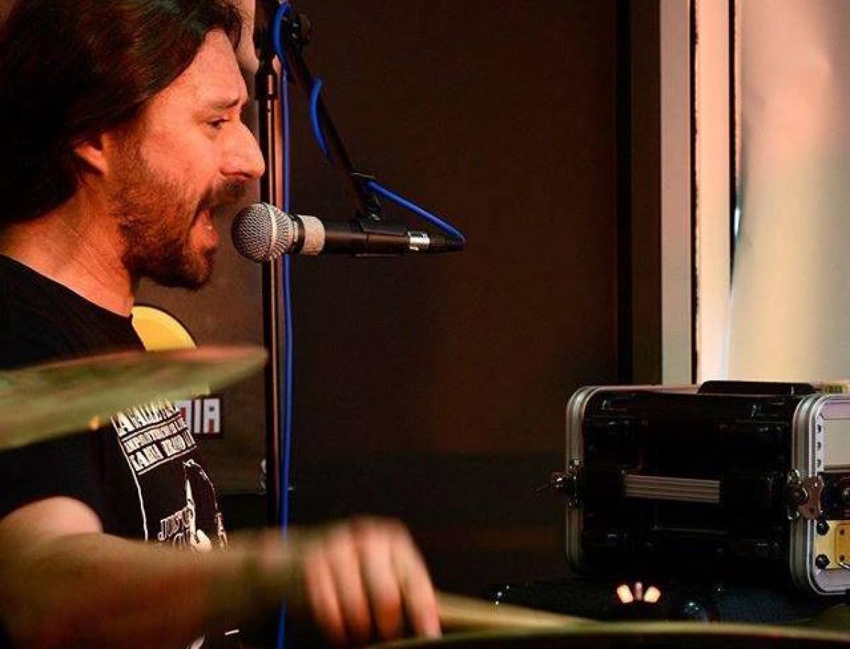 Jaume Viader 'Txume' a la bateria