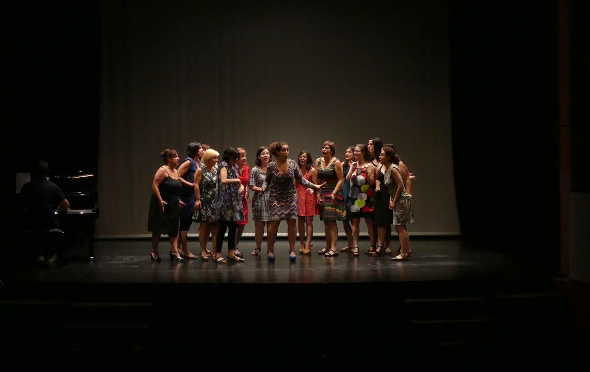 Assaig general de l'espectacle Dones d'òpera, aquest divendres a Valls