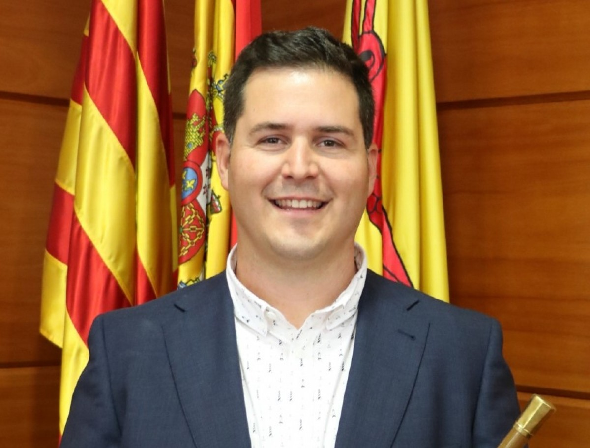L'alcalde de la Llagosta, Óscar Sierra