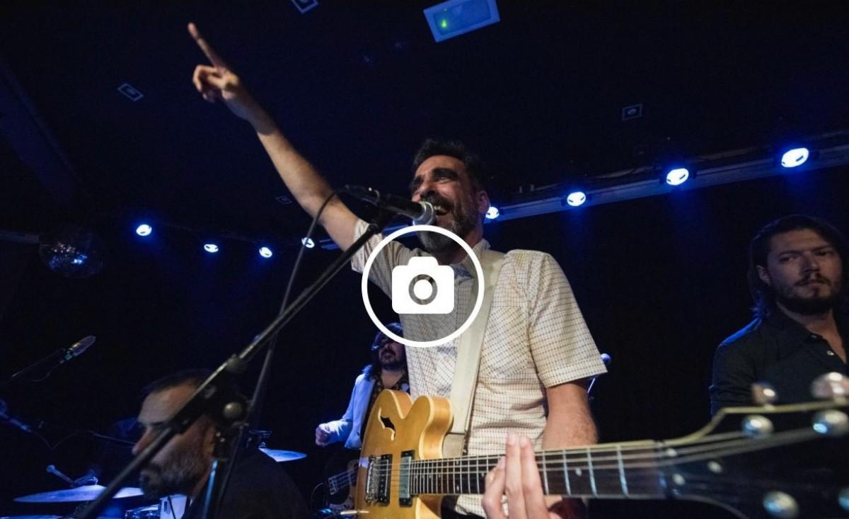 Santi Campos al seu concert a la Barts Club