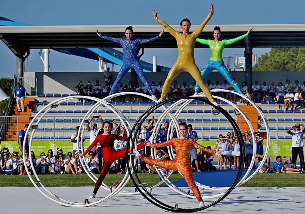 Hi participaran 3.000 esportistes de 42 nacionalitats
