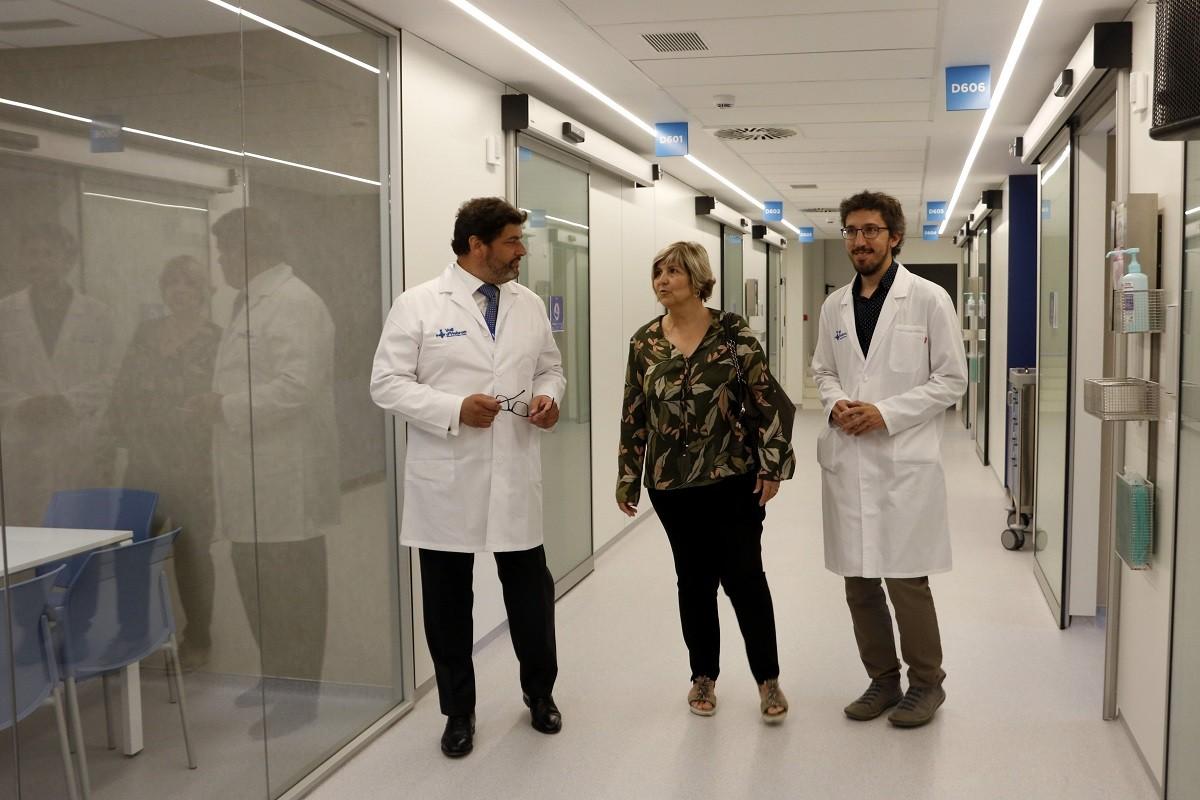 L'hospital Vall d'Hebron és referent en malalties minoritàries