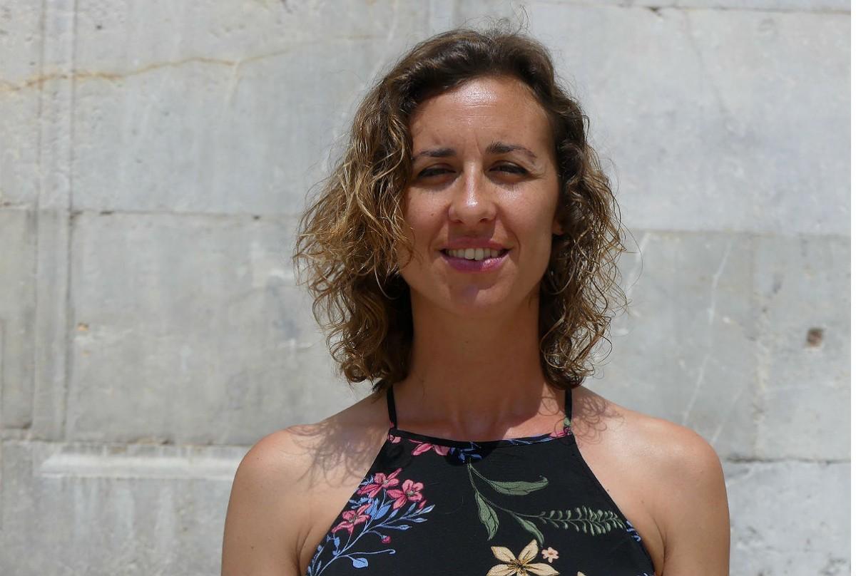 Laia Estrada, portaveu de la CUP a Tarragona.