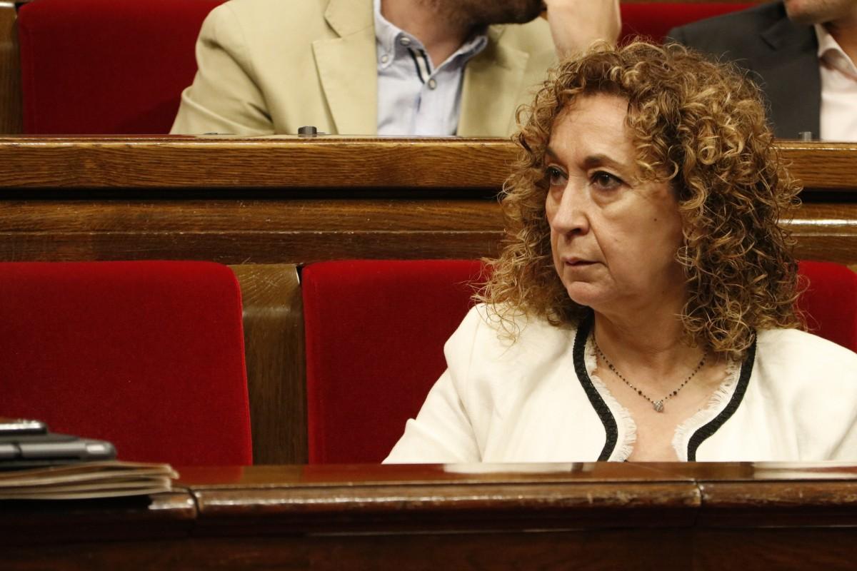 La consellera de Justícia, Ester Capella, aquest dimecres al Parlament