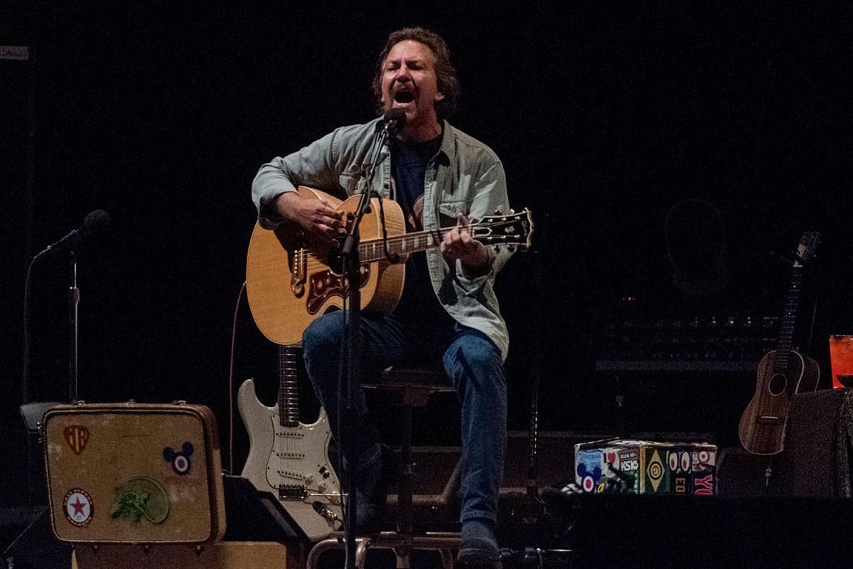 Eddie Vedder al Palau Sant Jordi