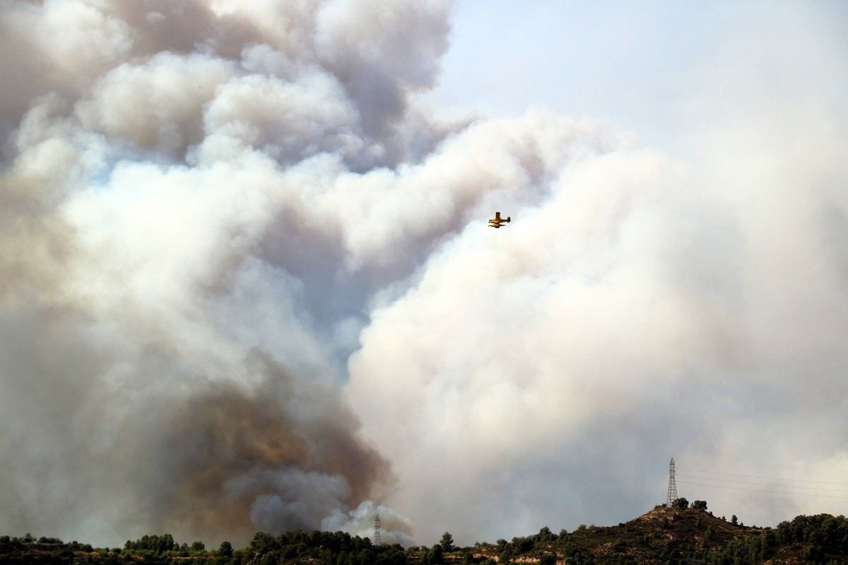 L'incendi de Ribera d'Ebre