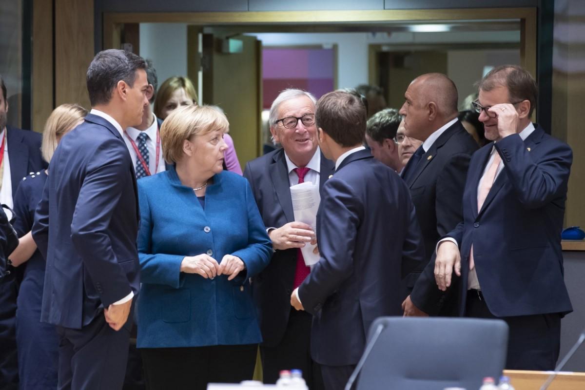 Donald Tusk i Jean-Claude Juncker, presidents del Consell Europeu i de la Comissió Europea, respectivament.