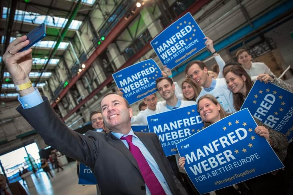 Manfred Weber, candidat del PPE a la presidència de la Comissió Europea.