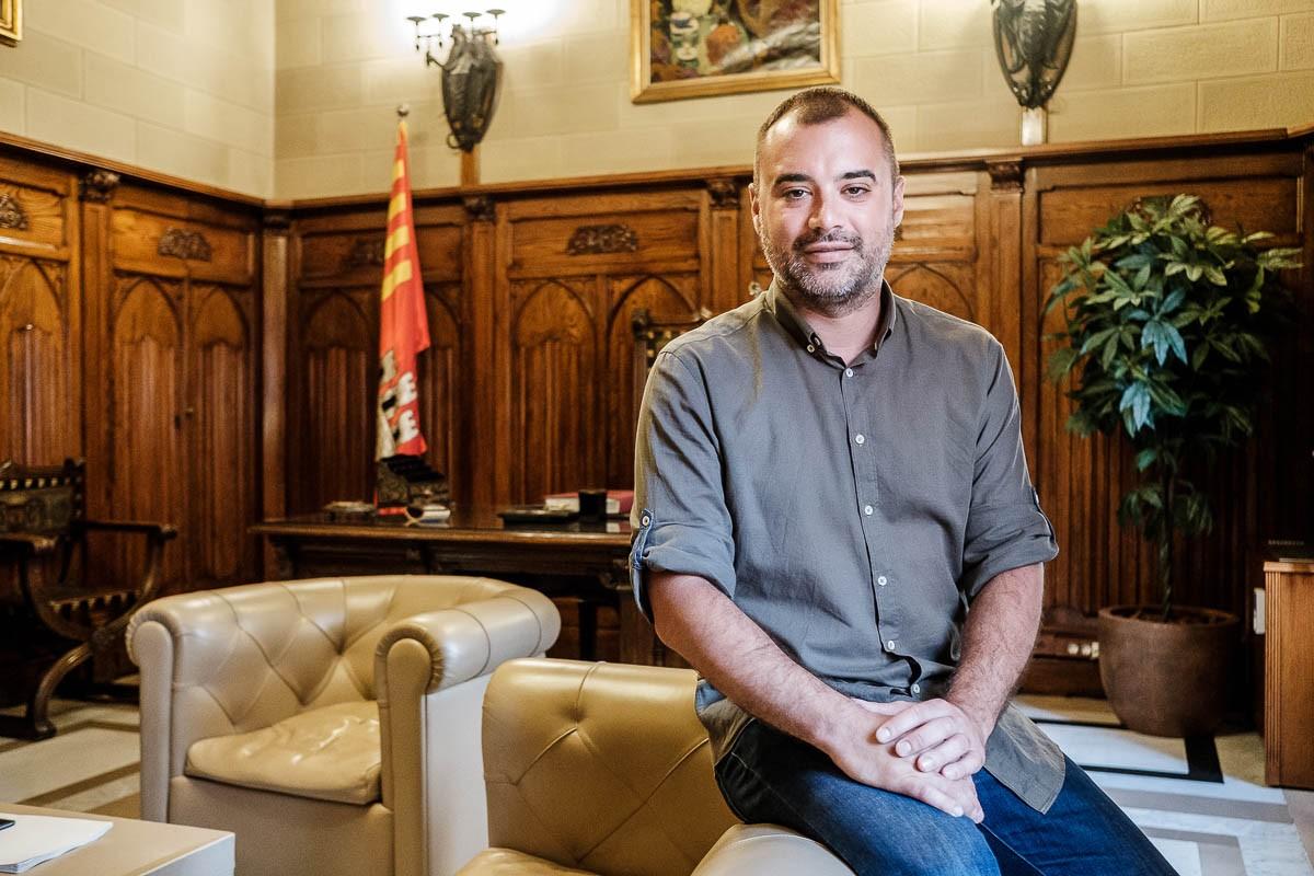 L'alcalde de Terrassa, Jordi Ballart, fa balanç de la crisi del coronavirus.