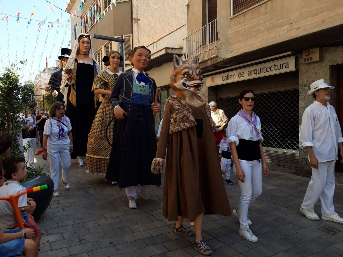 Ball institucional dels Gegants de Rubí de Festa Major