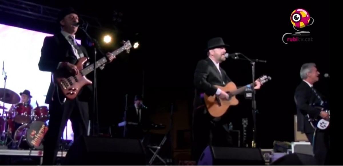 Els Brincos, un dels concerts del Revival de la nit de Sant Pere