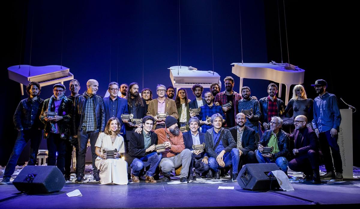 Foto final dels primers Premis Carles Santos