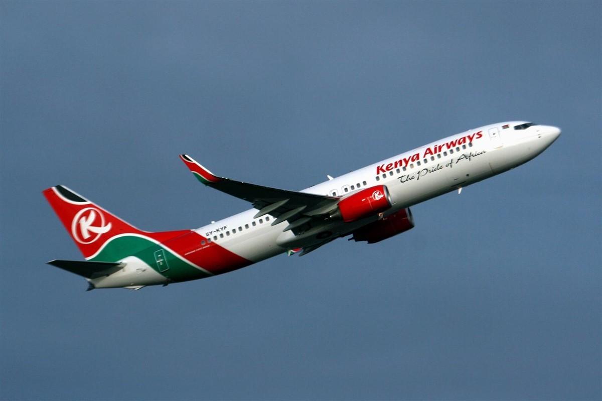 Un vol de Kenya Airlines