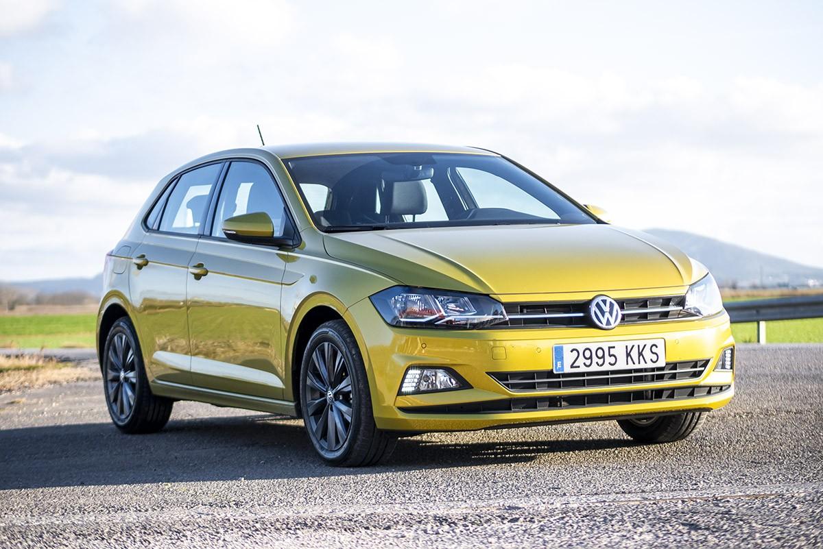 Frontal del Volkswagen Polo, cada cop més semblant al Golf