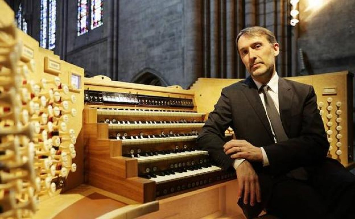 Olivier Latry interpretarà Bach a l'orgue