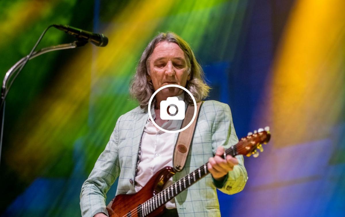 Roger Hodgson al concert als Jardins de Pedralbes