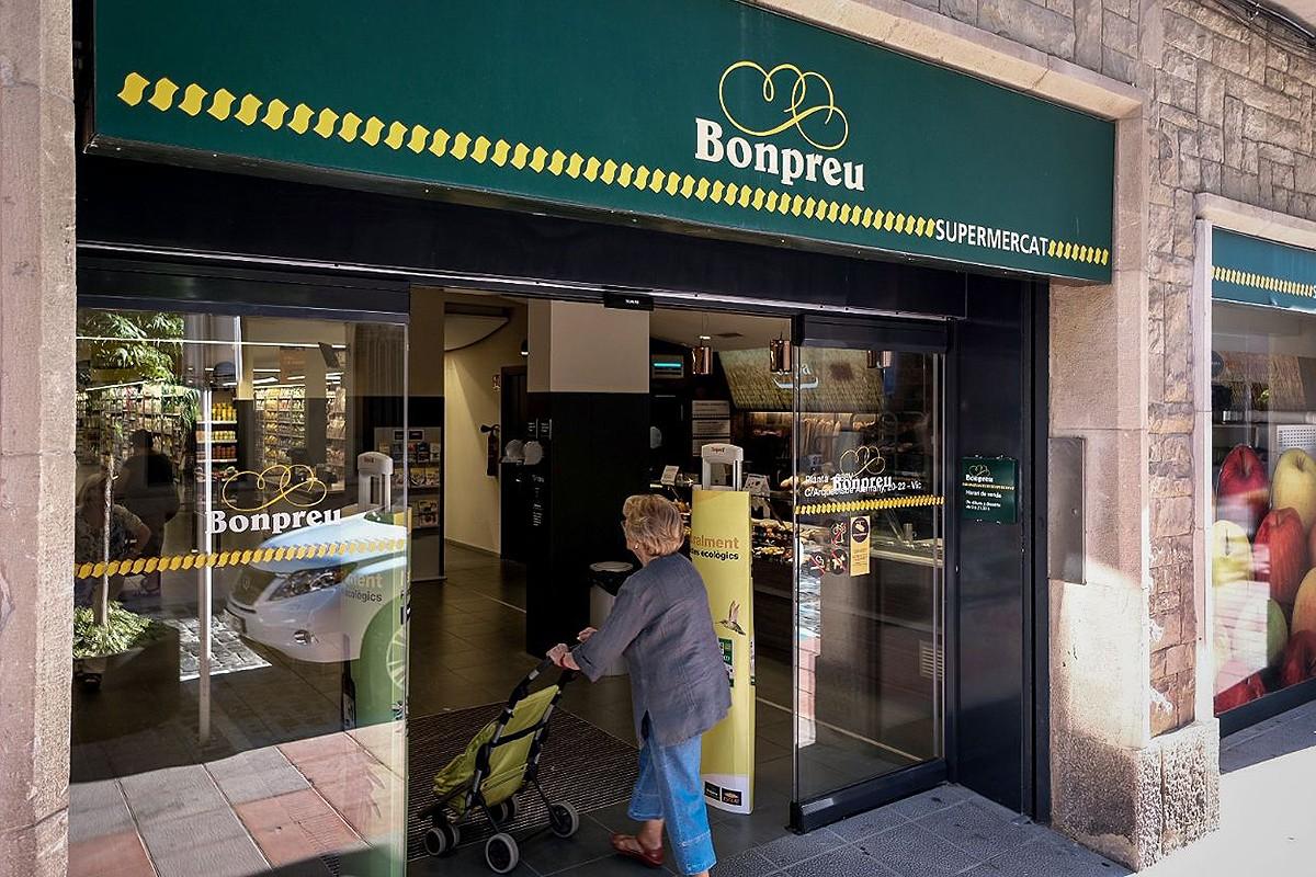 Un supermercat Bon Preu, en una imatge d'arxiu