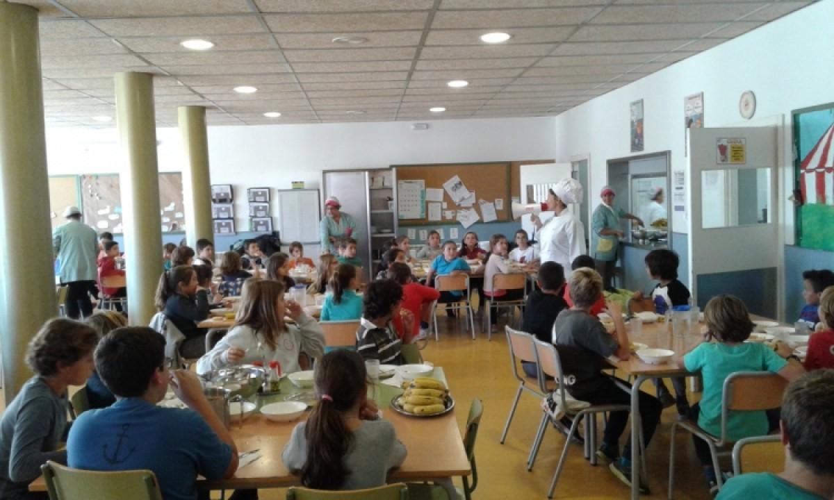 Un menjador escolar