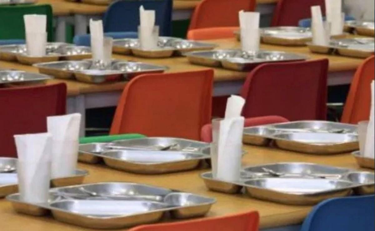 El menjador d'una escola