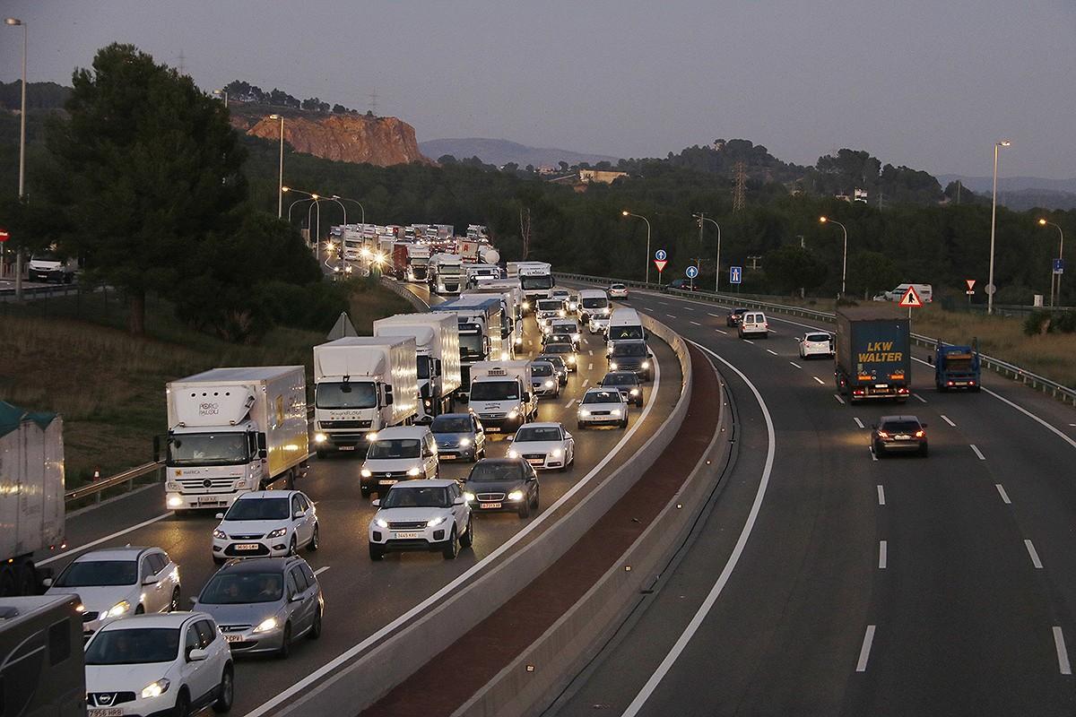L'autopista AP-7, en una imatge d'arxiu