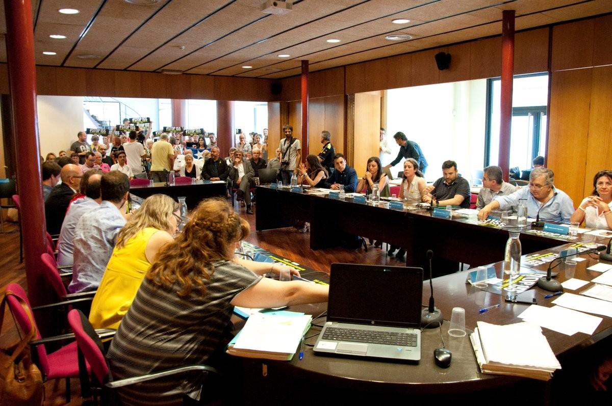 Ple fundacional del Consell Comarcal del Ripollès