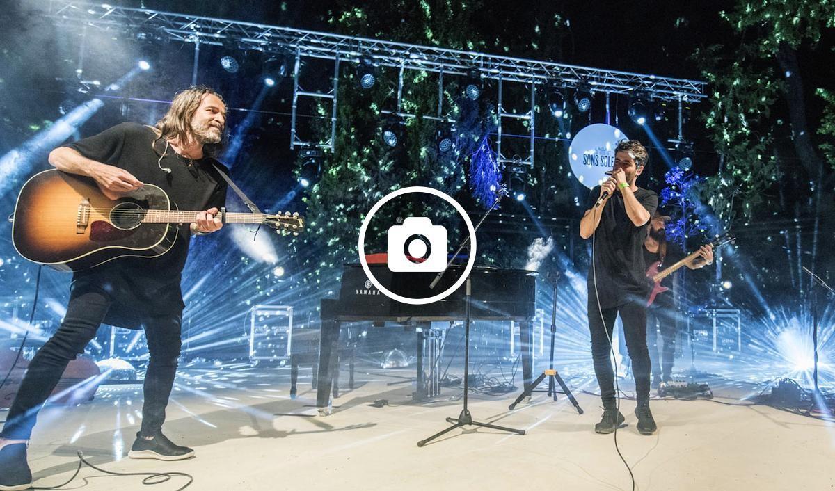 Concert de Joan Dausà al festival Sons Solers