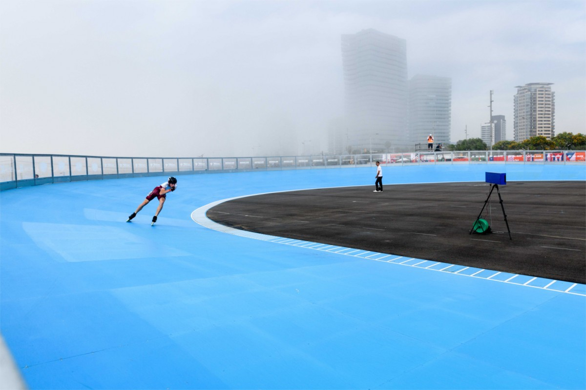 Recull fotogràfic dels World Roller Games per Miguel López Mallach