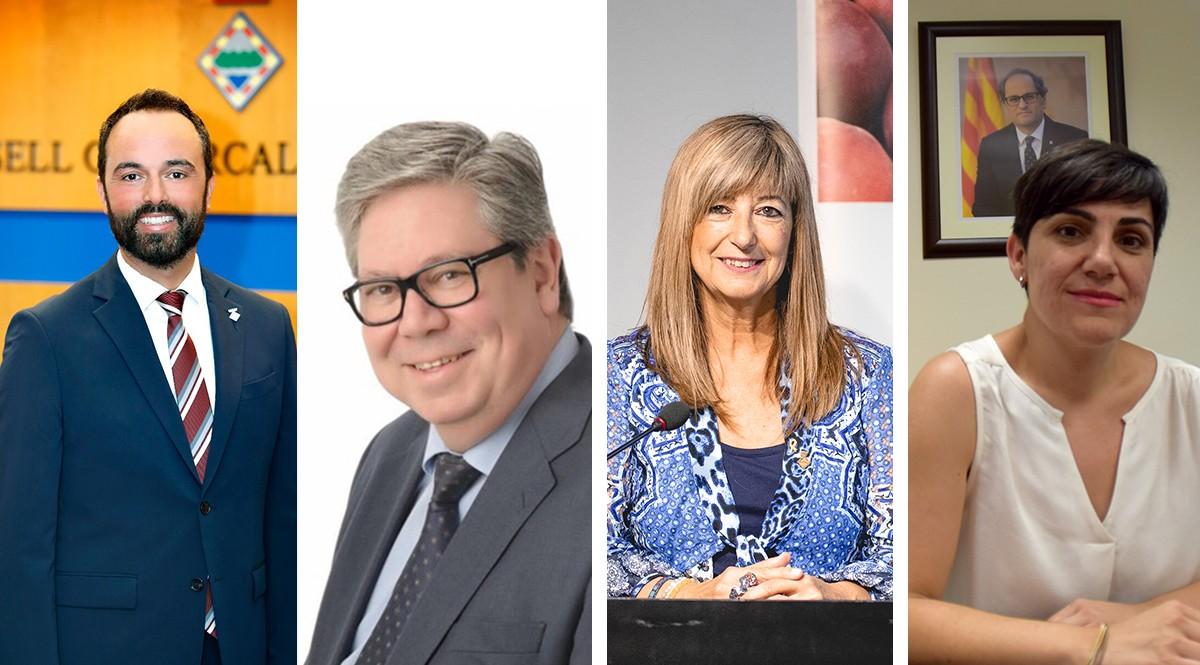 Joan Roig, al Montsià; Xavier Faura, al Baix Ebre; Gemma Carim, a la Ribera d'Ebre i Neus Sanromà, a la Terra Alta són els 4 nous presidents