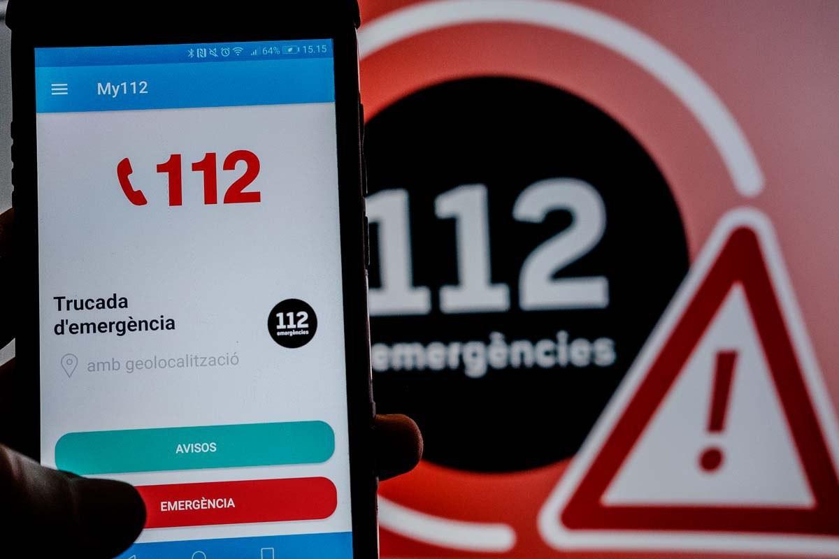 El telèfon d'emergències 112