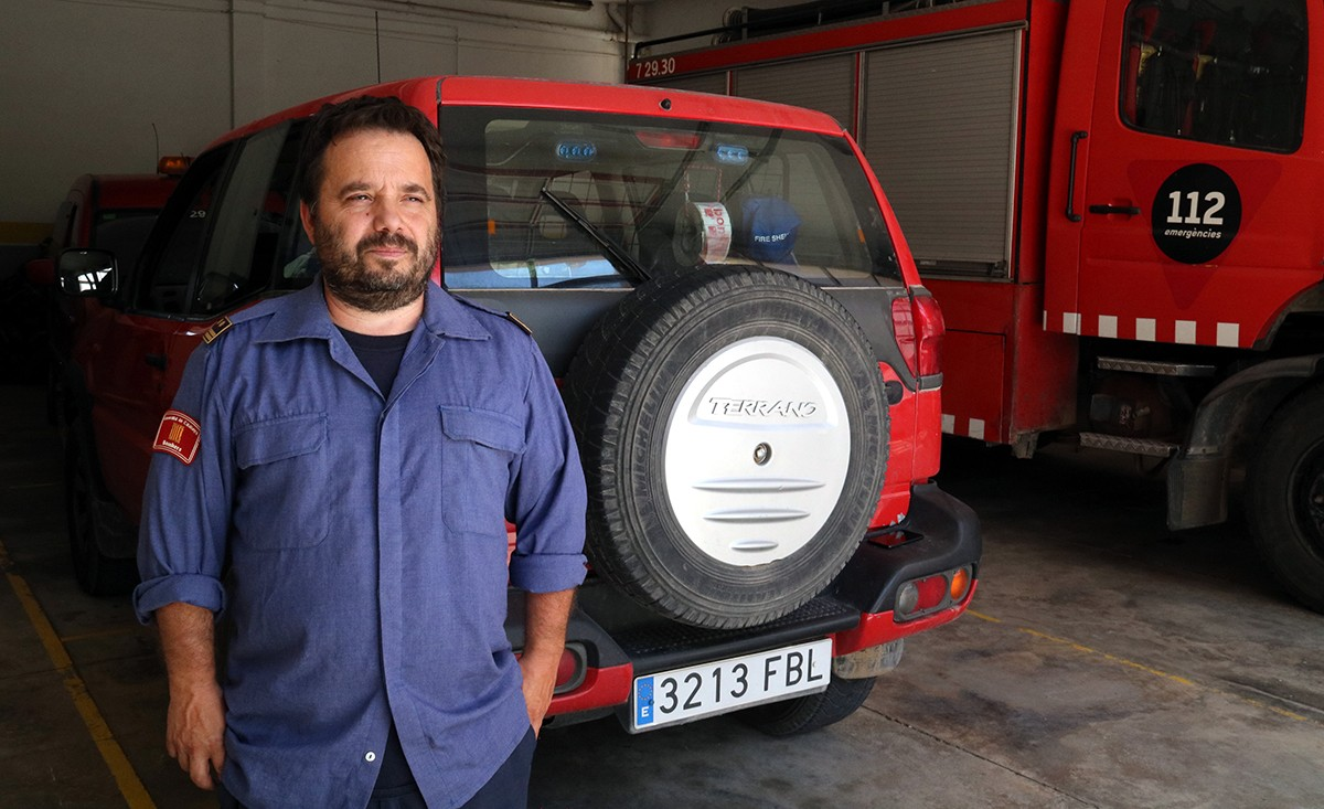 Marc Castellnou, cap dels GRAF