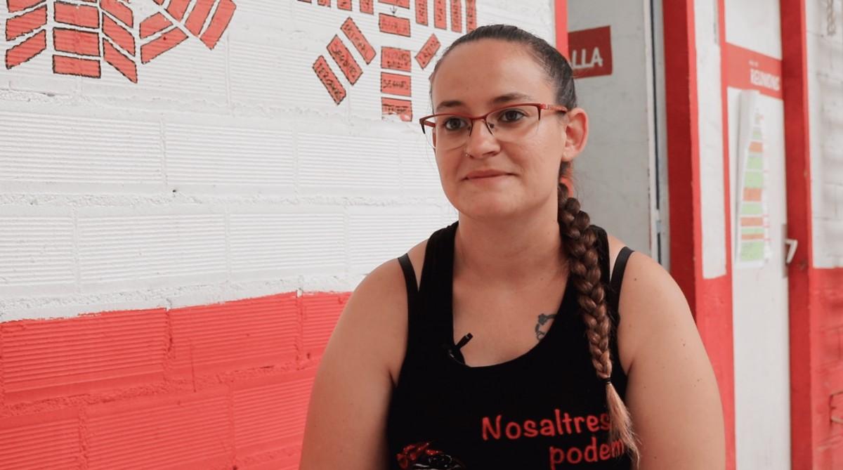 Anna Yepes, cap de colla dels Castellers de Rubí