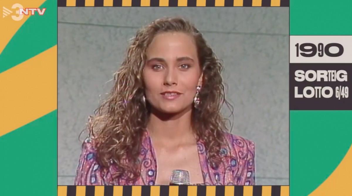 Mònica Terribas, l'any 1990, al ''No tenim vergonya''