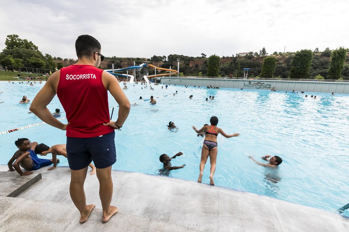 La principal piscina municipal de Sabadell