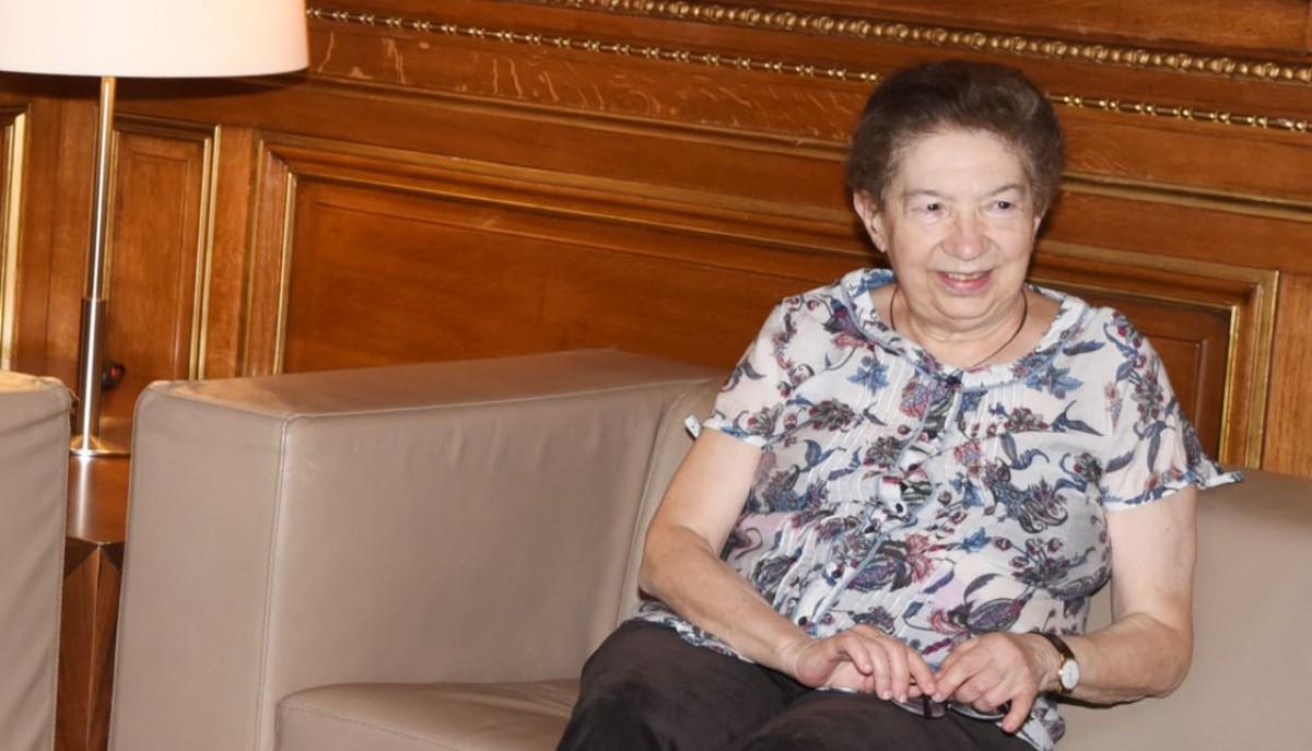 La historiadora Eva Serra, en una imatge del 2015.