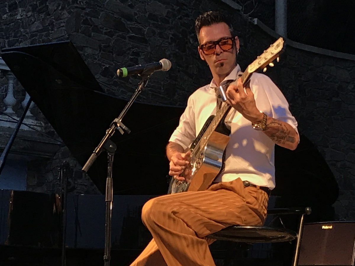 Chino Swingslide al Portbou Hot Jazz Festival 2019