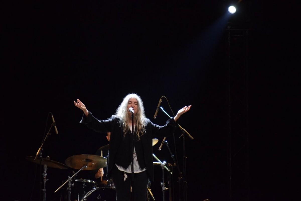Patti Smith al festival de la Porta Ferrada