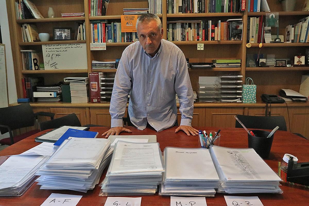 Robert Manrique, assessor de la UAVAT